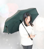Inverted Umbrella - Black/Green
