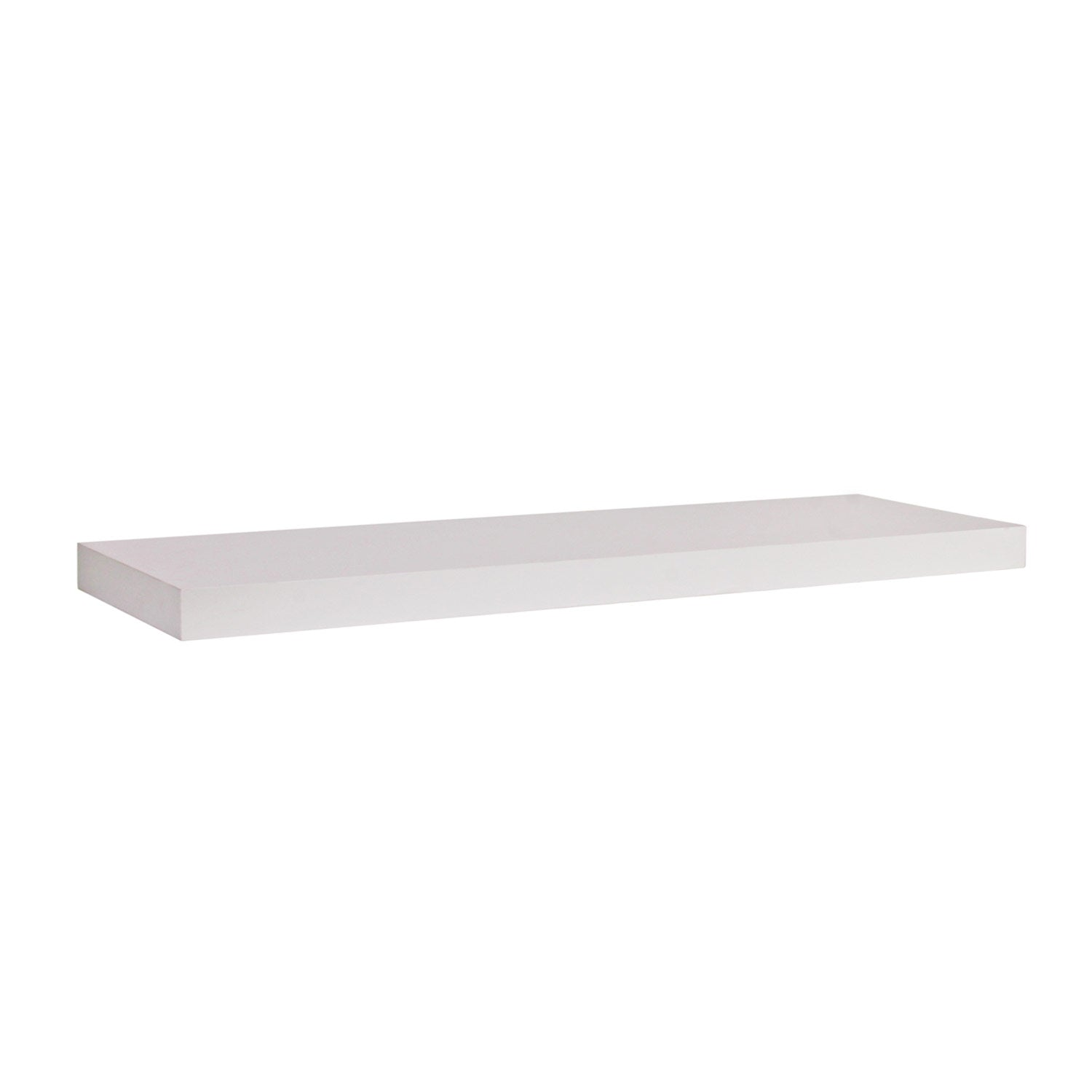 Juno Shelves - Floating Small - White Wood Grain