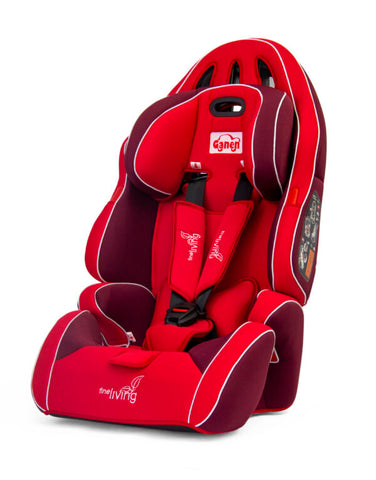 Fine Living Car Seat – Red/Maroon