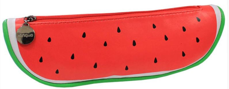 Pencil Cosmetic Pouch - Watermelon Case - Bundle Deal Take 2