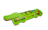 Jeronimo - Wooden Wall Activity Crocodile