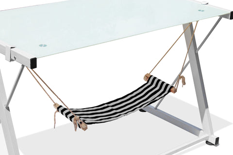 Foot hammock-Black stripe