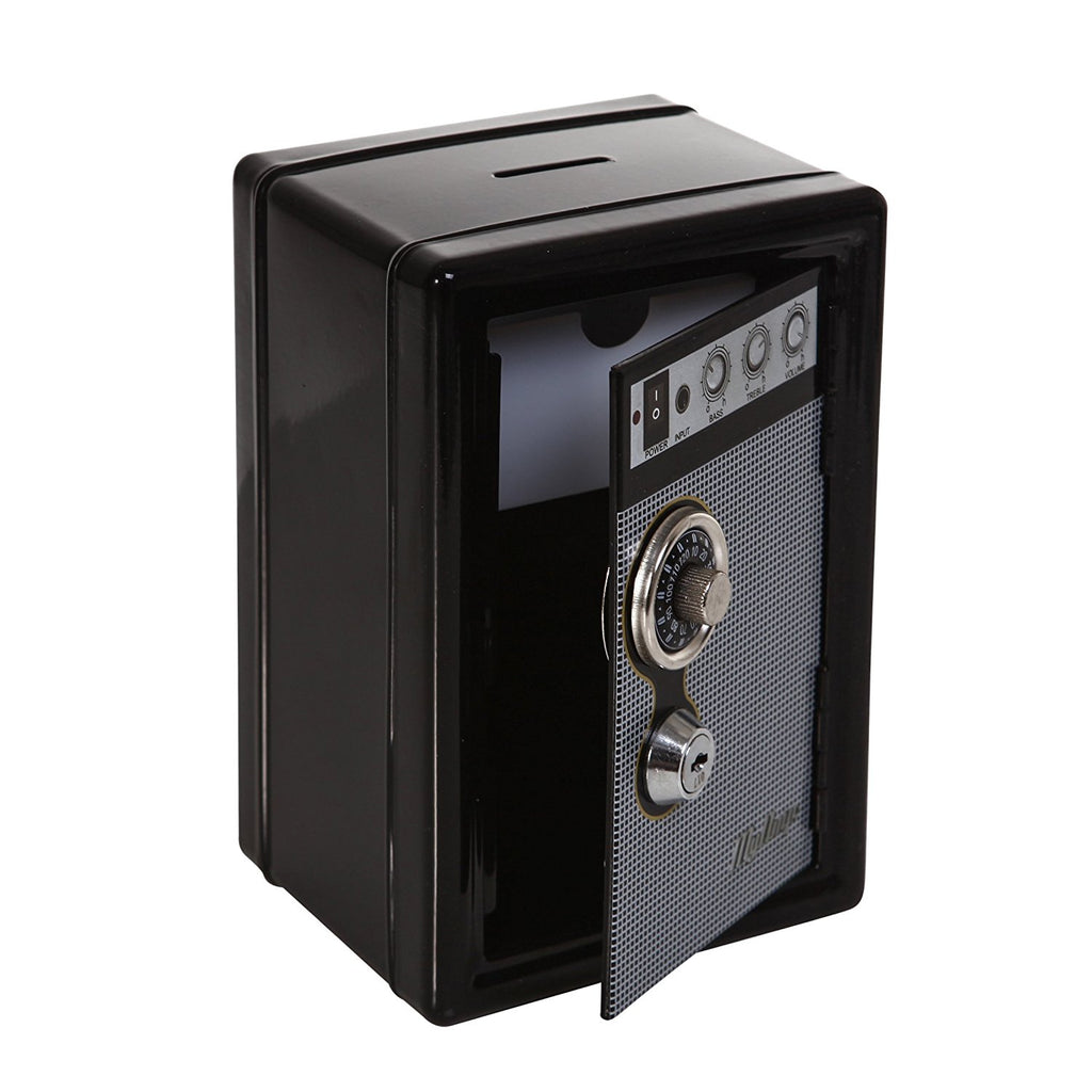 Retro Radio Safe - Black
