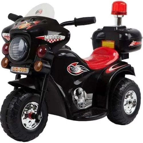 Jeronimo – Siren Police Bike – Black