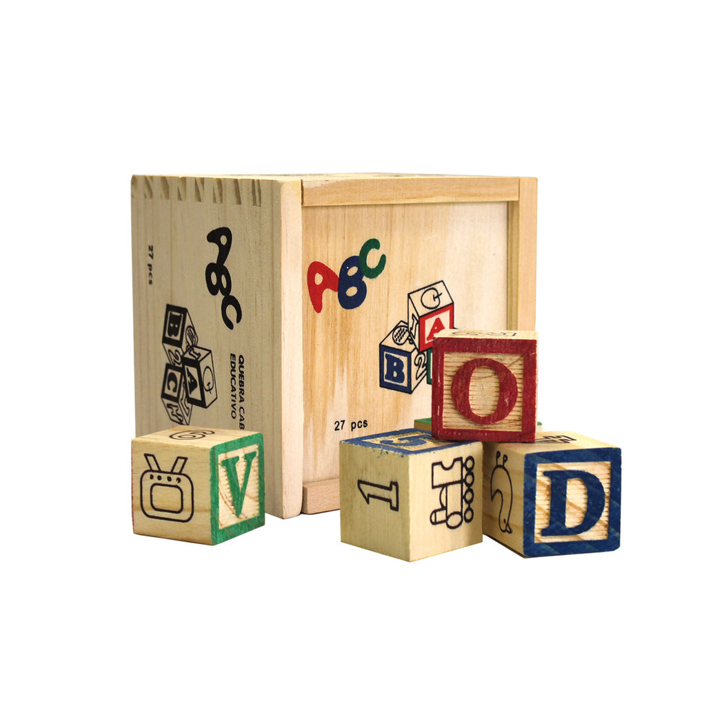 Toy - Wooden ABC Blocks