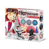 Microscope Buki - MS907B - with 30 experiments - UK Imports STEM toys dandashop.co.za