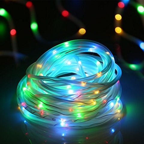 Rope Light Solar Festive Decor MC With Solar Panel