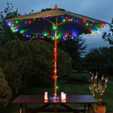 Solar Fairy Lights 12M Multi Coloured 120 LEDs