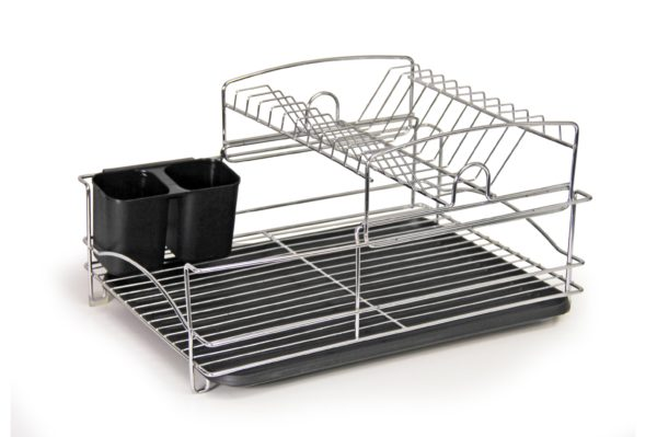 Fine Living Balcony Dish rack – Black