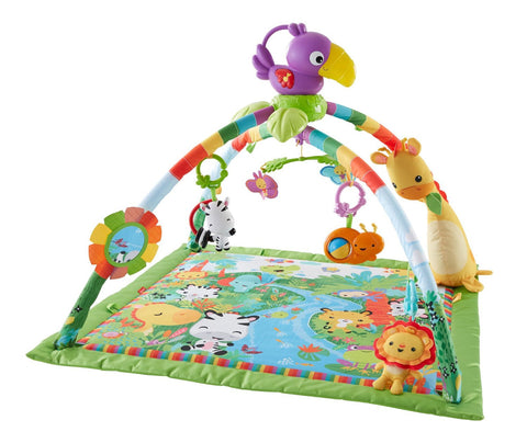 Fisher-Price Music & Lights Deluxe Gym/Play mat - UK Import