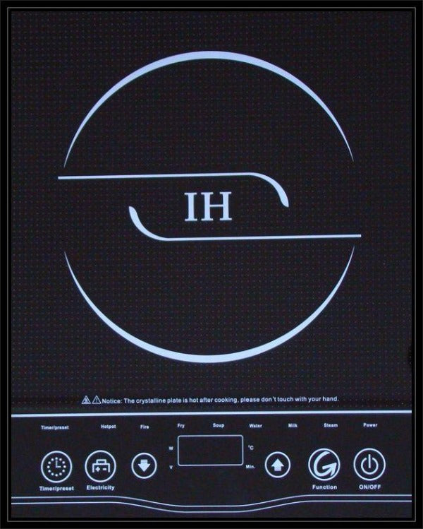 IH GTA12 2000W INDUCTION COOKER