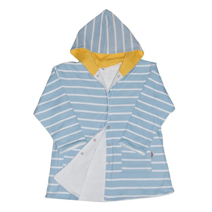 Kids Beach Gowns - 5-6 Years - Blue and Yellow
