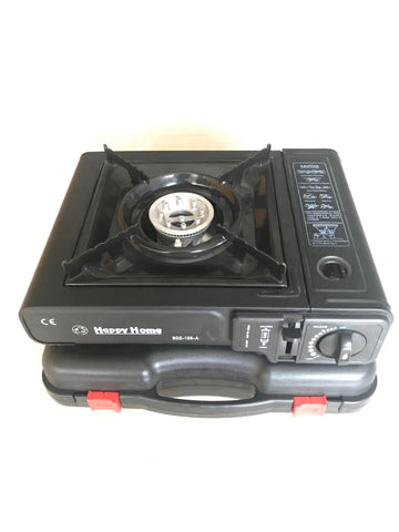 BDZ-155 Happy Home Durable Portable Gas Stove (Black)