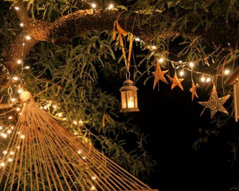 Solar Decorative Fairy Lights 12M White - Festive Party Decor Lighting