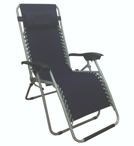 Deluxe Lounger Folding Chair Set (Set of 2 loungers)