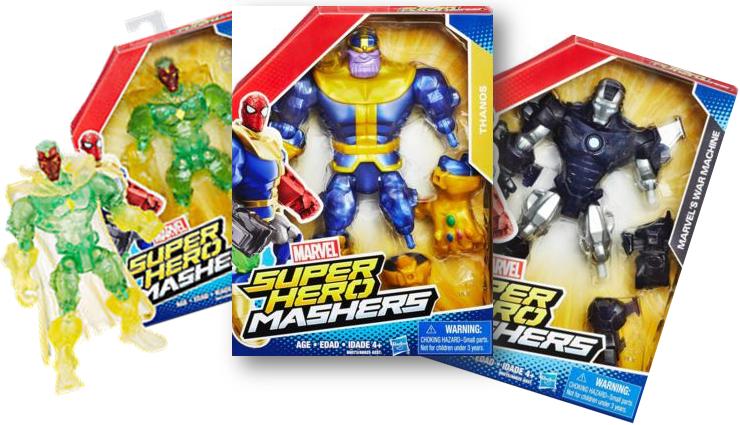 Marvels super Hero Mashers 3 Pack Special (CT)