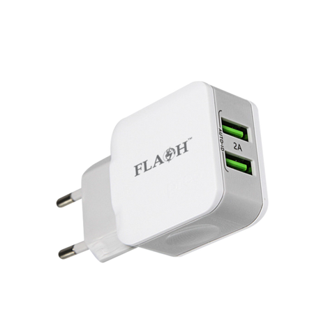 Wall Charger 2 USB Cable