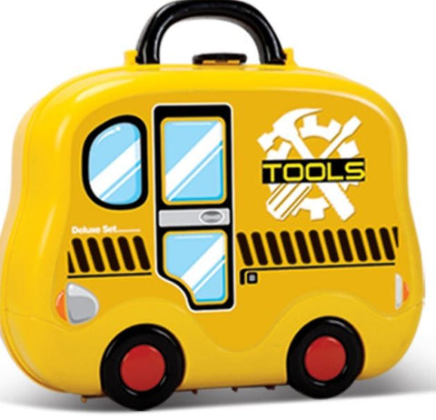 Tools Play Set 3 in 1 Suitcase - Toys Pretend Play Gifts