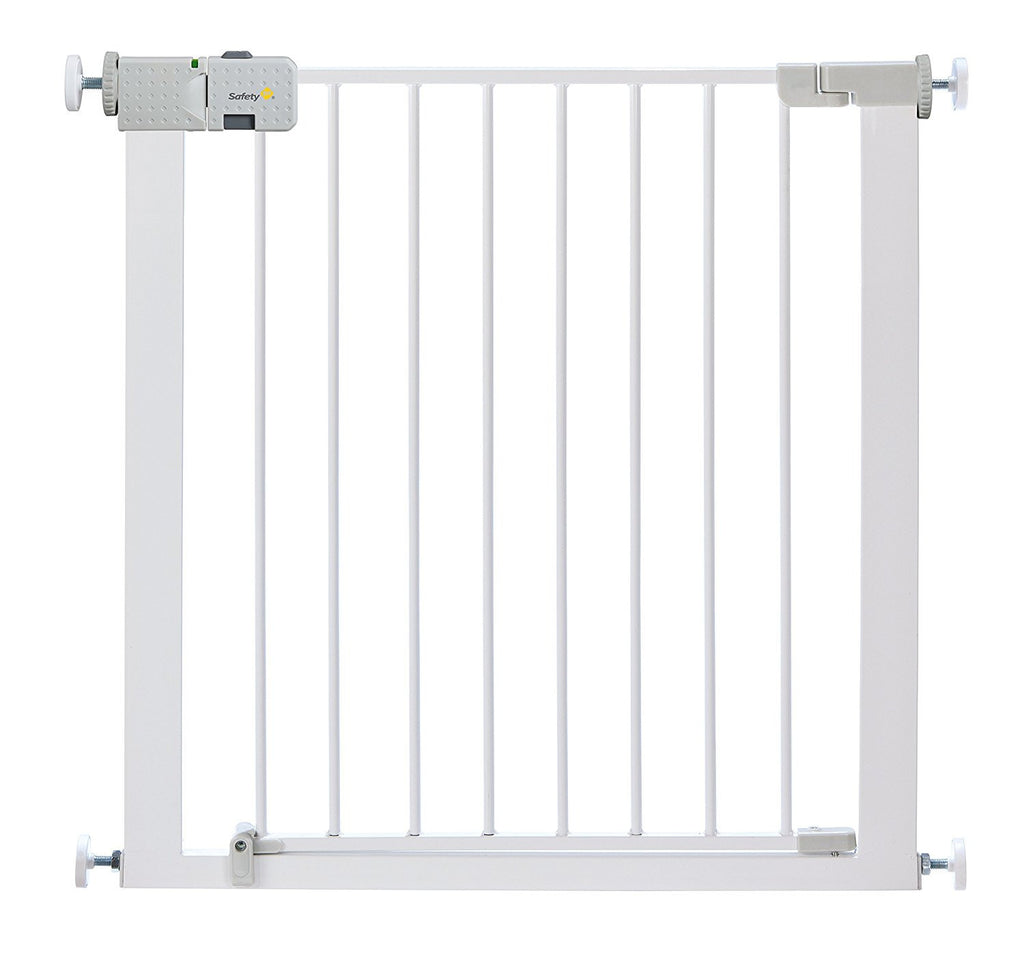 Safety 1st Secure Tech Simply Close Metal Gate (White) - UK Import dandashop.co.za