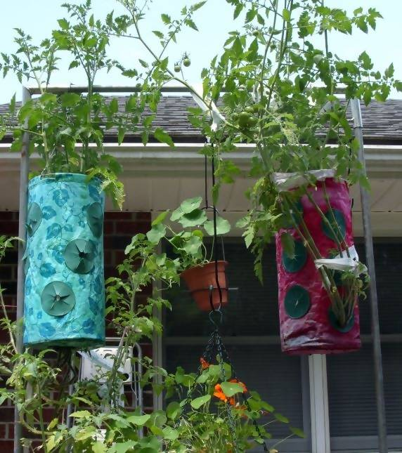 Topsy Turvy Upside Down Planters Growers
