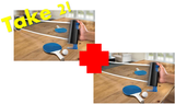 Buy One Get One FREE Table Tennis Play Set - Retractable