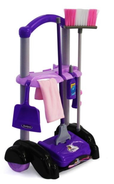 Cleaning Trolley - Kids Fun Play Set - Gifts