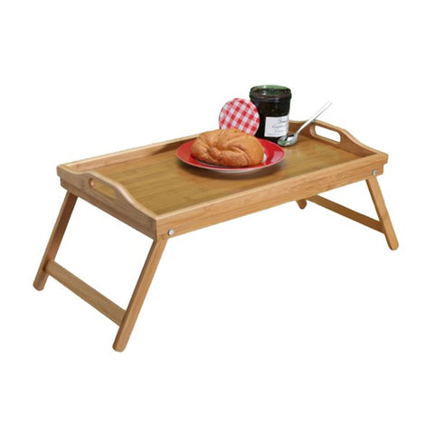 Bamboo Breakfast Serving Tray - Home Accessories - Indoor Outdoor