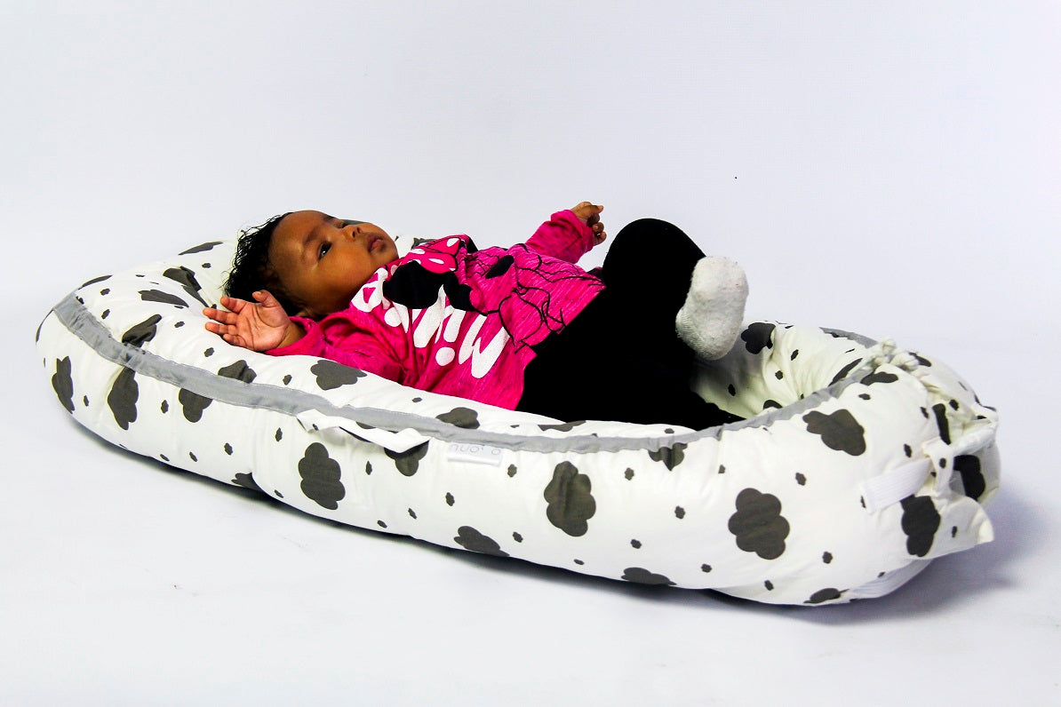 Nuovo - Portable Baby Bed - Cloud