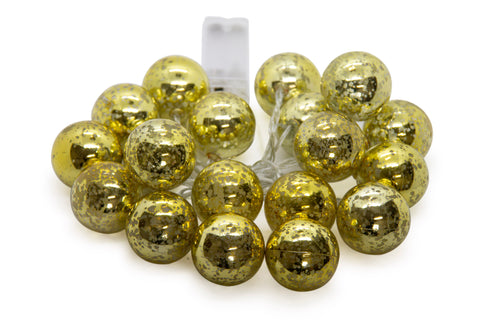 LED Fairy lights - Silver Ball 20pc