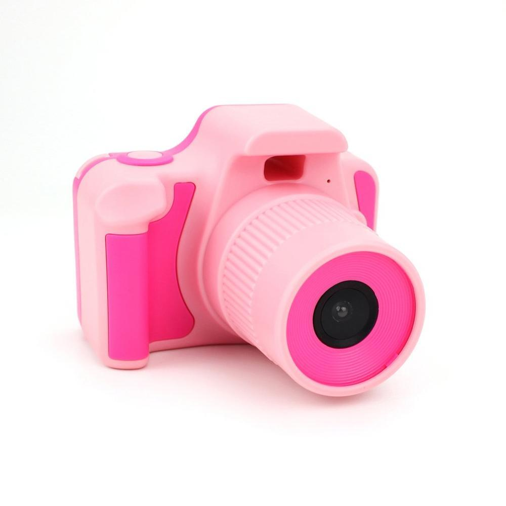 Kids Camera - Pink - Takes real photos