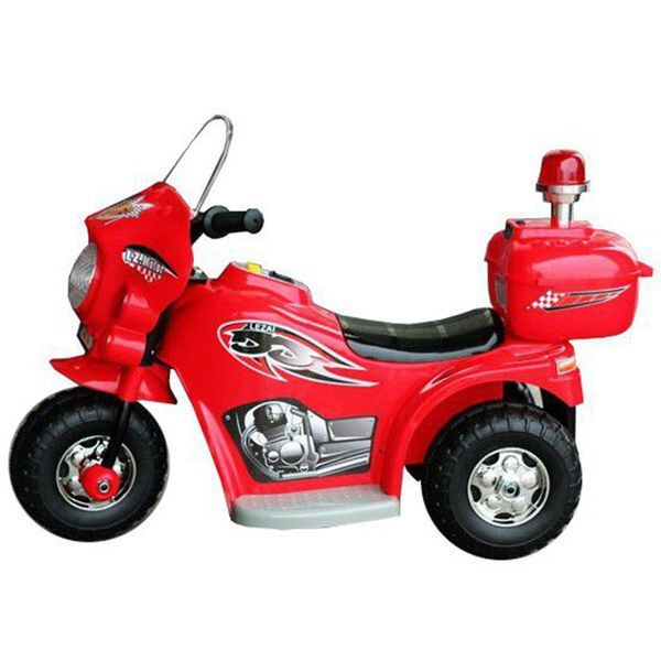 Jeronimo – Siren Police Bike – Red