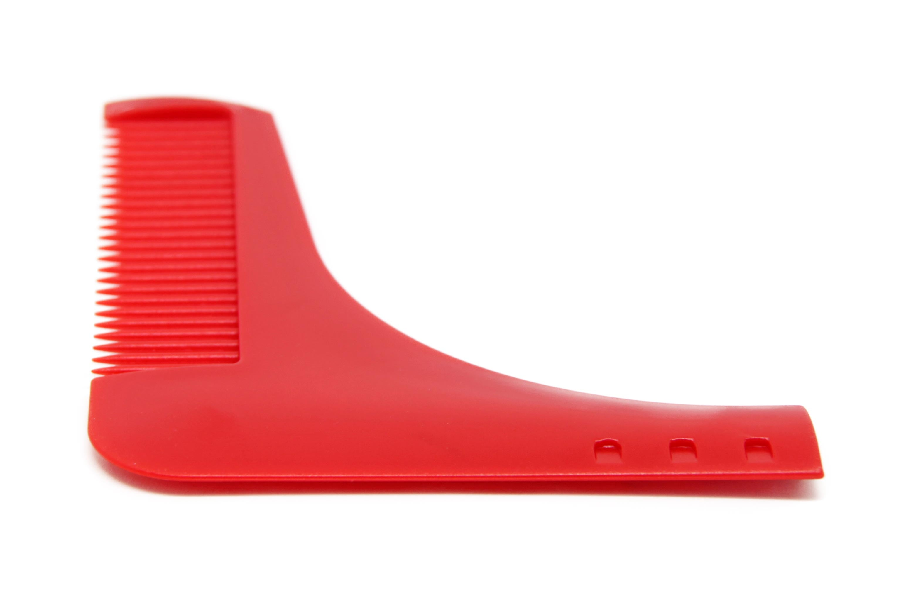 Beard Shaping Tool - Red