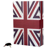 Book Safe Secret Large UK Flag Design - Jewellery Money Storage Organiser Decor