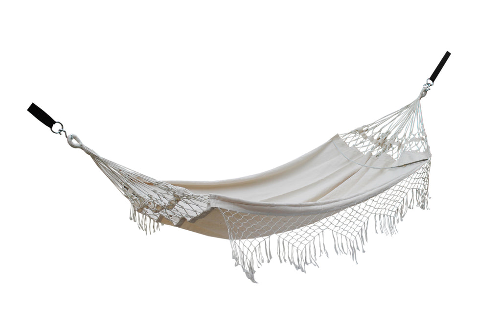 Fine Living - Brazillian Hammock Bed - Fringe