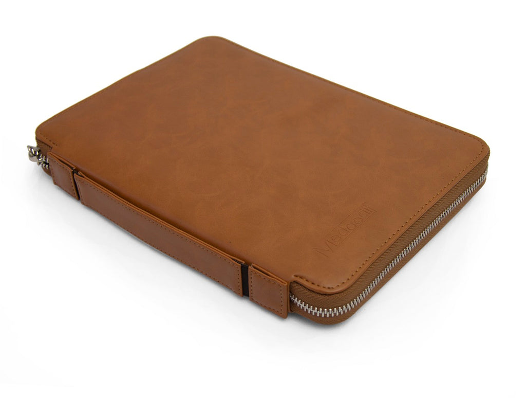 Medoodi Passport & Travel Organiser - PU Brown