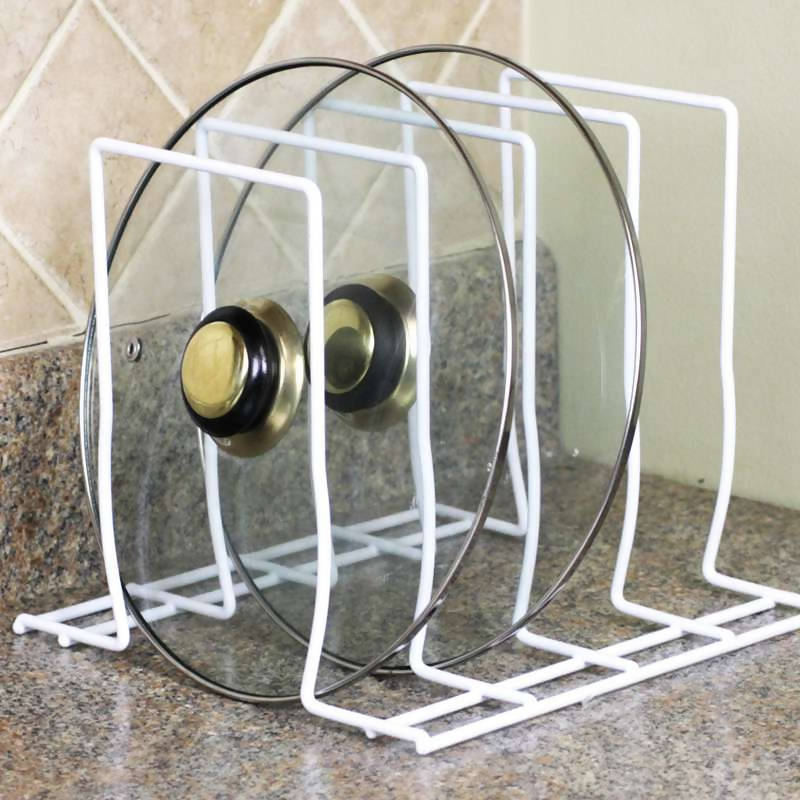 Pot Lid Holder Rack