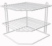 Corner Shelf 3 Tier - Extra Shelving Homeware - Kitchen Organiser