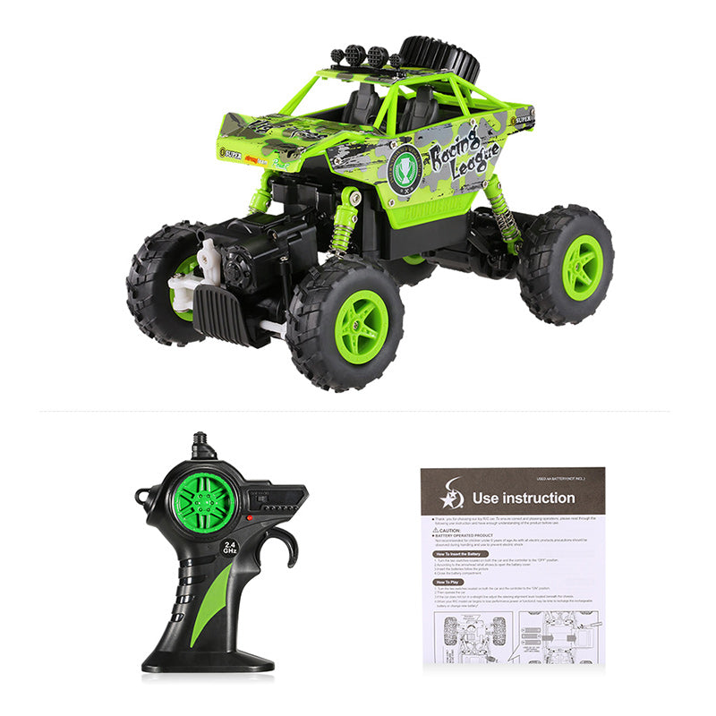 Jeronimo - King Off-Road RC Climber - Green