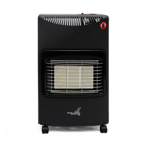 Fine Living - Gas heater - Black