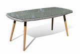 Fine Living - Seville Dining Set - Table with Glass