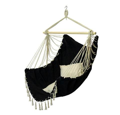 Fine Living Tahiti Hammock Chair - Black