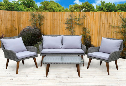 Fine Living - Seville Lounge Set <p><b> Hurry - only 3 left!! </b>