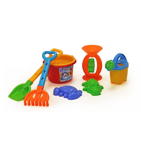 Jeronimo - 8pc Sand Dump Truck Set