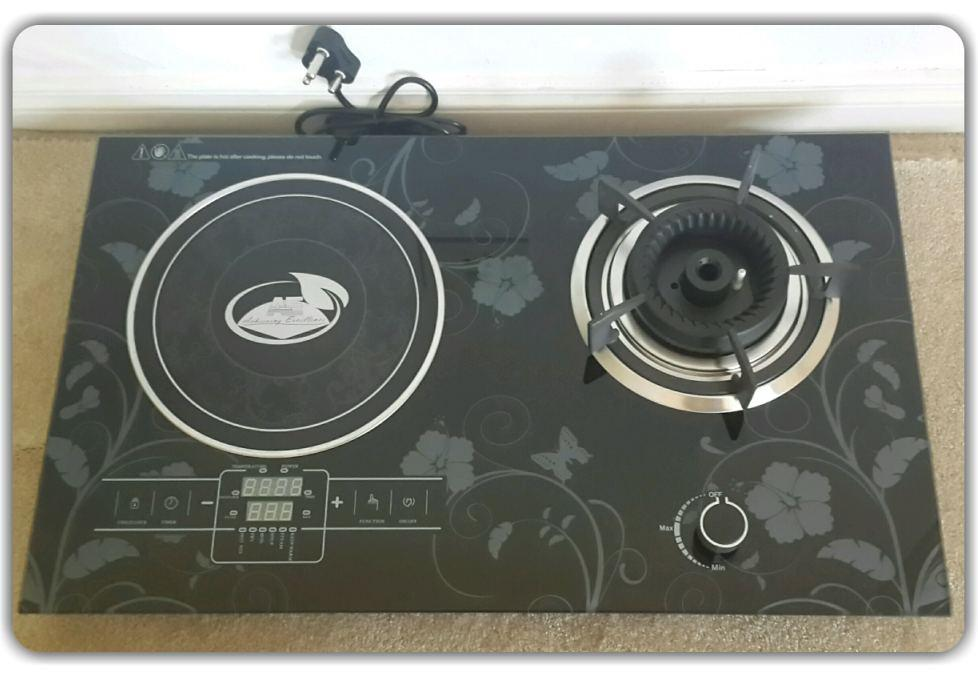 Induction / Gas Combo COOKER