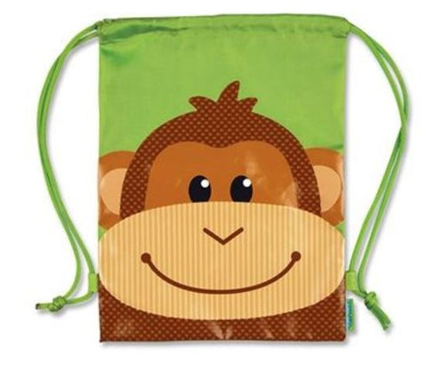 Kids Drawstring Bag Monkey