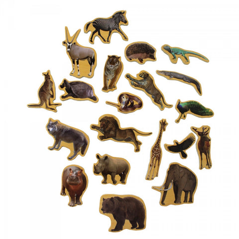 Puzzle Wooden Magnetic WildLife Animals - Kids Toddlers Toys Gifts