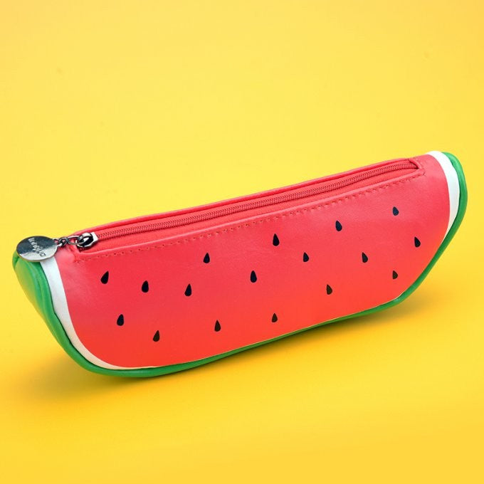 Cosmetic Pencil Pouch - Watermelon Case