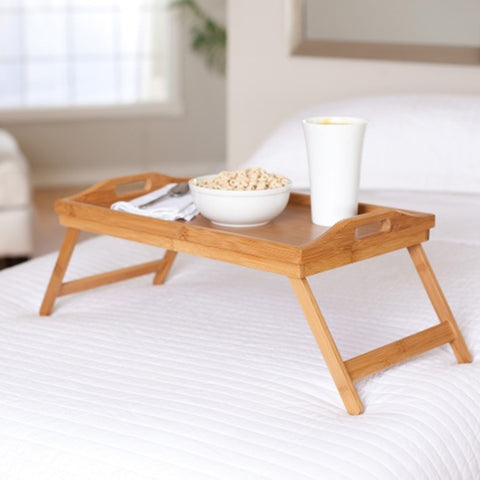 Fine Living Bamboo Breakfast Tray