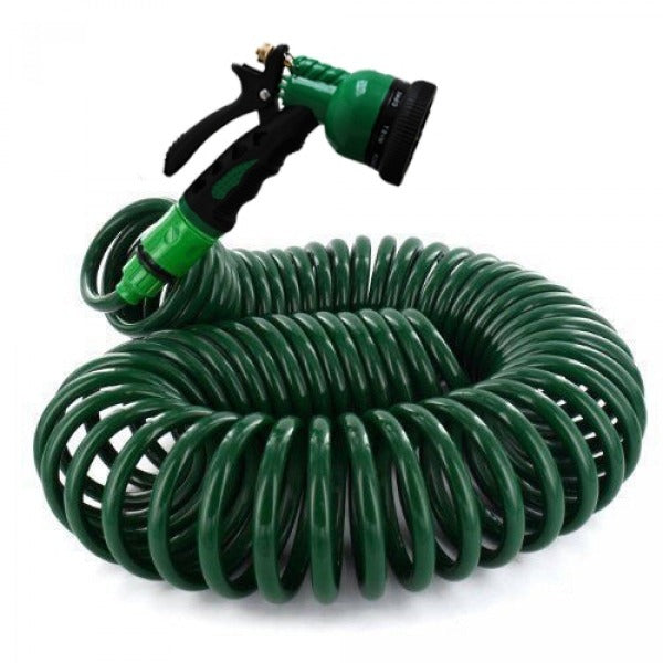 Coiled Retractable Hose - 15m