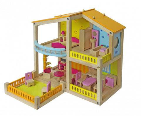 Jeronimo - Wooden Art Deco Doll House